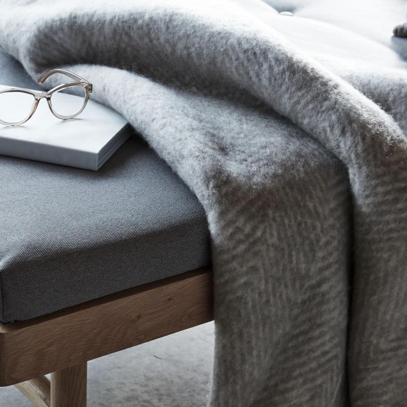 Plaids et couvre lit